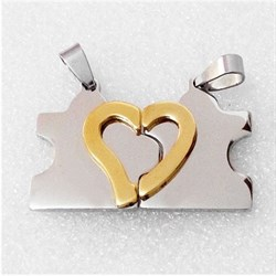 "Кулоны для влюбленных ""I love you"" - фото 10140"