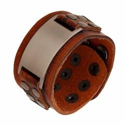 """Коричневый браслет для мужчины """"Завоеватель2"""" - фото 10189"""