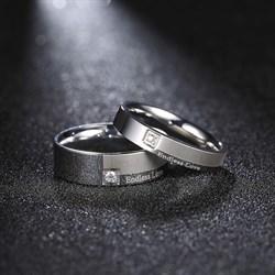 """Парные кольца """"Бесконечная любовь"""" - фото 10386"""