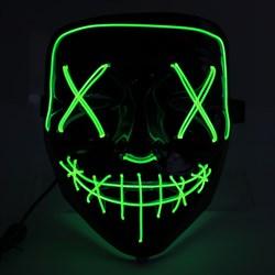 Неоновая маска - фото 10628