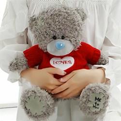 """Мишка Тедди """"Me to you"""" серый - фото 10796"""