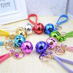 """Брелки для 5 подружек """"Разноцветные колокольчики"""" - фото 11029"""