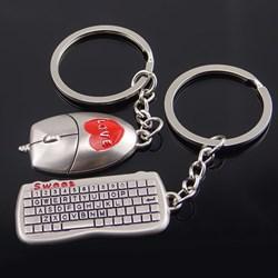 """Парный брелок """"Клавиатура и мышка"""" Всегда вместе! - фото 11102"""