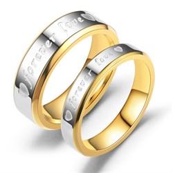 """Кольца для влюбленных """"Любовь навсегда"""" - фото 11429"""