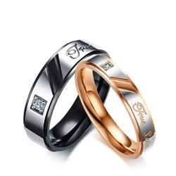 """Парные кольца """"Истинная любовь"""" - фото 11436"""