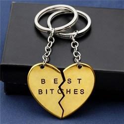 """Парные брелки """"Best bitches"""" - фото 11606"""