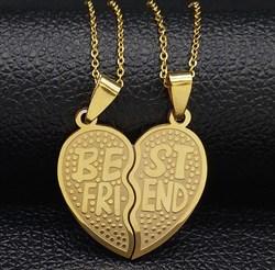 """Парные кулоны для друзей """"Best Friends"""" - фото 11651"""