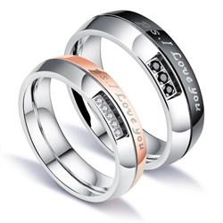 Парные кольца для двоих Ps. I Love You - фото 11817