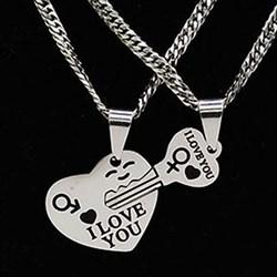 """Кулоны для влюблённых """"Ключ от сердца"""" - фото 11940"""