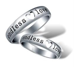"""Парные кольца """"Endless love"""" - фото 13357"""