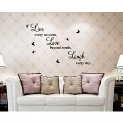 романтичные наклейки на стену