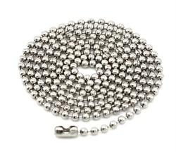 Цепочка шариковая сталь - фото 5063