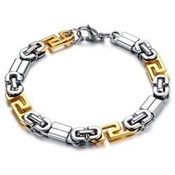 браслет из стали для мужчин в виде цепи