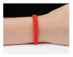 Двойной браслет красная нить - фото 6329