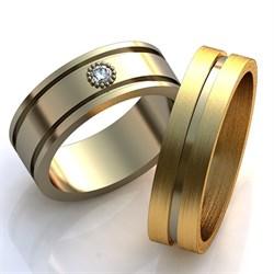 """Обручальные кольца """"Совет да любовь"""" - фото 6879"""