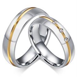 обручальные кольца из стали