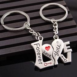 "Брелки для влюбленных ""Love Forever"" - фото 8378"