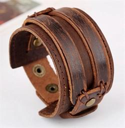 широкий мужской браслет