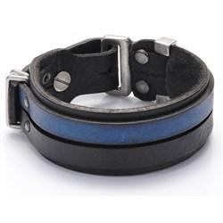 Авторский кожаный браслет для мужчины - фото 9653
