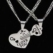 "Кулоны для влюблённых ""Ключ от сердца"""