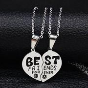 """Парные кулоны """"Best friends"""""""