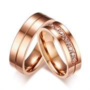 """Парные кольца """"Любовь важнее всего 2"""""""