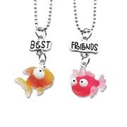 """Кулоны для друзей """"Весёлые рыбки"""""""