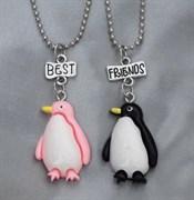 """Кулоны для друзей """"Дружные пингвины"""""""