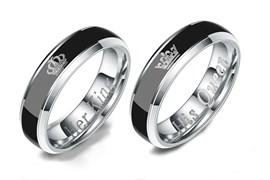 """Парные кольца хамелеоны """"Её король/Его королева"""""""