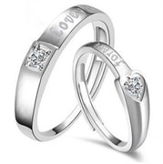 """Безразмерные кольца для пары """"Love you forever"""""""