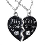 кулоны для двух сестренок
