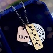 """Кулон """"Love forever"""""""