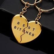 """Парные брелки """"Best bitches"""""""