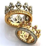 обручальные кольца короли любви