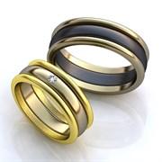 """Обручальные кольца """"Изысканность"""""""