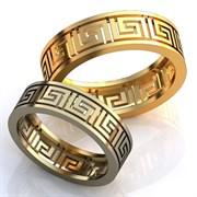 """Обручальные кольца """"Орнамент любви"""""""