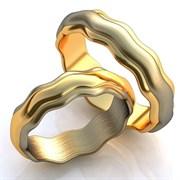 """Обручальные кольца """"Изящество"""""""
