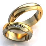 """Обручальные кольца """"Гармония любви"""""""