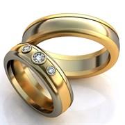 """Обручальные кольца """"Свет любви"""""""