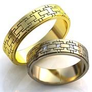 """Обручальные кольца """"Любовные цепи"""""""