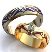 """Обручальные кольца """"Изящная любовь"""""""