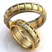"""Обручальные кольца """"Дорога любви"""""""