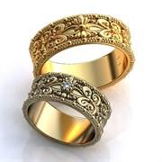 """Обручальные кольца """"Изящная пара"""""""