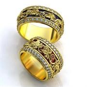 """Обручальные кольца """"Сладкая любовь"""""""