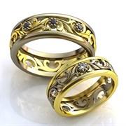 """Обручальные кольца """"Узоры любви"""""""