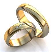 """Обручальные кольца """"Ты в моем сердце навсегда"""""""