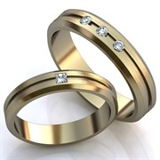"""Обручальные кольца """"Прекрасная пара"""""""