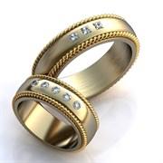 """Обручальные кольца """"Величие любви"""""""