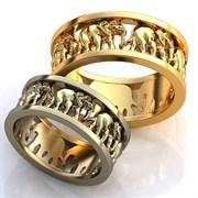 """Обручальные кольца """"Вечная любовь"""""""