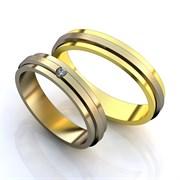 """Обручальные кольца """"Совет да любовь"""""""
